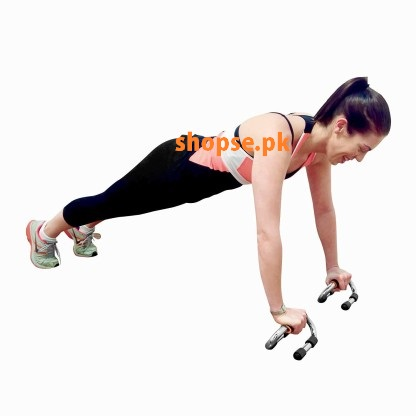 buy Pushup Bars Steel Handles Workout Fitness Gym Press Bar Pumping Exercise HSPush at best price by Shopse.pk in Pakistan (1)