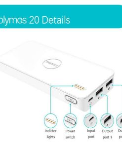 buy Romoss Power Bank Polymos 20 20000MAH battery bank at low price by shopse.pk in Pakistan (1)