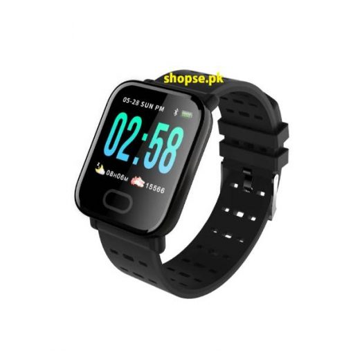 buy best a6 smartwatch men women Heart Rate Monitor Sport Fitness Tracker Blood Pressure Waterproof SmartWatch Clock IOS Android Phone at low price by Shopse.pk in Pakistan (2)