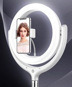 26CM REMAX Led Ring Light Shelf Livestream Lamp Portable Table Desktop RL-LT13 best price online in pakistan by shopse (3)