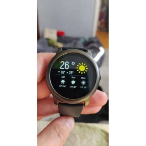 buy Smart Watch Haylou Ls05 Solar Fashion Health Heart Rate Blood Pressure Monitor Fitness Tracker Outdoor Sports Man Women at best price online in pakistan (1)