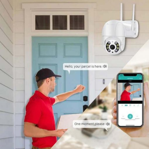 Buy Best Quality Mini Wifi Ptz Dome Machine Camera 2MP 1080P Hd at low Price by Shopse.pk in Pakistan (2)