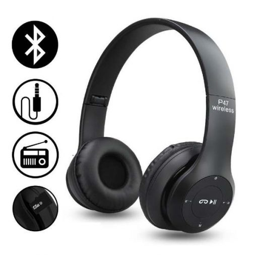 Buy Best Quality P47 Wireless Bluetooth Headphones at Lowest Price by Shopse.pk in Pakistan