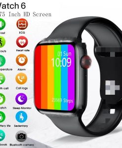 Buy Best Quality W26 Smart Watch Series 6 1.75 inch Full Touch Screen ECG PPG Heart Rate Monitor at lowest price by SHopse.pk in Pakistan 5 (1)