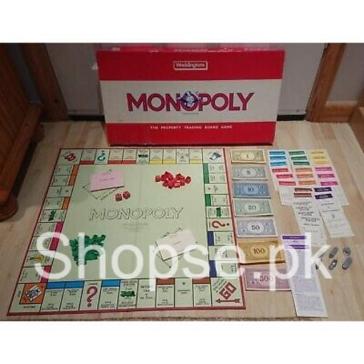 Buy Best Red Waddingtons Monopoly Property Trading Board Game online by shopse.pk in pakistan 23
