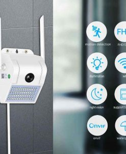 Buy 1080P Wireless WiFi IP Camera 2MP Wall Lamp Security Camera at best price online by Shopse.pk in pakistan