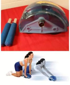 Buy 4 Wheel Roller Slide Abdominal Exercise Machine at best price online by Shopse.pk in pakistan (2)