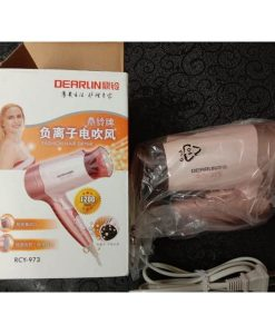 Buy Dearlin Dingling RCY-973 Professional Foldable Hair Dryer with cool button (1200W) at best price online by Shopse.pk in pakistan