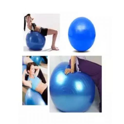 Buy Gym Ball - 85cm Blue at best price online by Shopse.pk in pakistan (2)