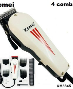 Buy Kemei Electric Hair Clipper For Direct Use With 4 combs and Powerful Moter Km-8845 (Adil and co Lahore)) at best price online by Shopse.pk in pakistan