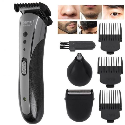 Buy Kemei Electric Hair Clipper For Direct Use With 4 combs and Powerful Moter Km-8849 (Adil and co Lahore) at best price online by Shopse.pk in pakistan