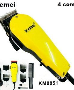Buy Kemei Electric Hair Clipper For Direct Use With 4 combs and Powerful Moter Km-8851 (Adil and co Lahore) at best price online by Shopse.pk in pakistan