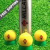 Buy Millat Special High & premium Quality Cricket Ball - Bouncy Tennis Ball Long-lasting coverage - For Night Cricket Tournament - (3 Pcs Pack) at best price online by Shopse.pk in pakistan