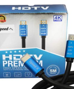 Buy Speed-X 2.0V HDMI Premium Cable Ultra HD 4k 5m at best price online by Shopse.pk in pakistan (2)