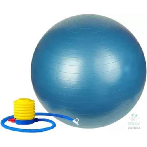 Buy Yoga Anti-Burst Fitness Exercise Gym Ball with Pump - 65cm MULTI COLOUR at best price online by Shopse.pk in pakistan