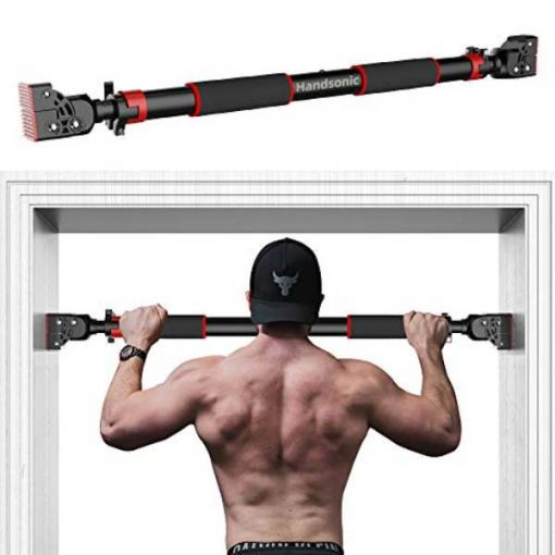 Buy Best Wall Mounted Push up Pull Up Bar 90-130 Cm Horizontal Bar Steel Adjustable Training Bars For Home Workout Pull Up Arm Training Sit Up Bar Fitness quipment by shopse.pk in pakistan ( (7)