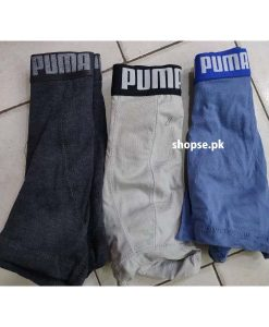 Buy Pack of 3 Puma Export Quality Men Underwear Boxer ( 3 Underwear Packet ) Online in Pakistan (3)