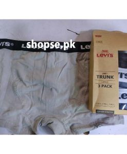 Buy Pack of 3 levis Export Quality Men Underwear Boxer ( 3 Underwear Packet ) Online in Pakistan (2)