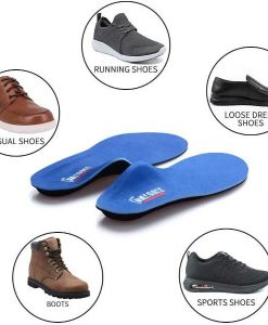 Lifecare Insole Pads Pair For Men Insoles Foot Care for Plantar Fasciitis & Heel Spurs