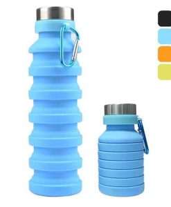 Buy Best Foldable Silicone Water Bottle Leakproof at Sale Price in Pakistan by Shopse.pk
