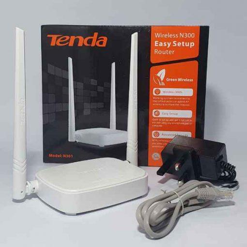 Buy Best Tenda Router Wireless N300 Model N301 at Sale Price in Pakistan by Shopse.pk