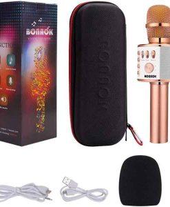 Buy Best Wireless Karaoke Mic with Speaker at Sale Price in Pakistan by Shopse.pk