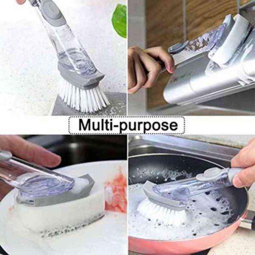 Buy Best Brush Scrubber Dish Bowl Washing Sponge at Sale Price in Pakistan by Shopse.pk